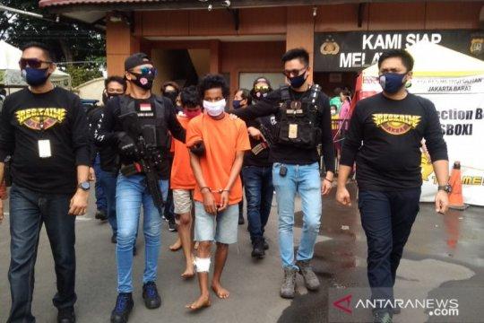Polisi sebut geng AKAP gasak empat minimarket dalam sepekan