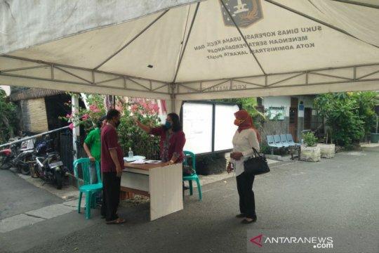 Kecamatan Senen terapkan Sistem Satu Gerbang di Kramat Jakarta Pusat