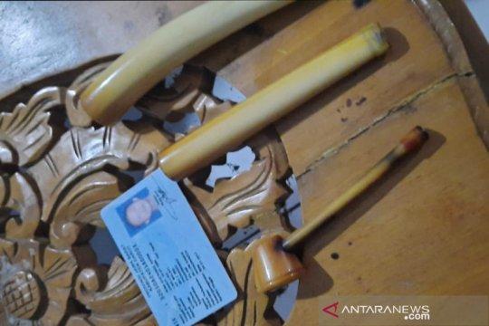 KLHK amankan warga Garut pemilik pipa rokok gading gajah sumatera