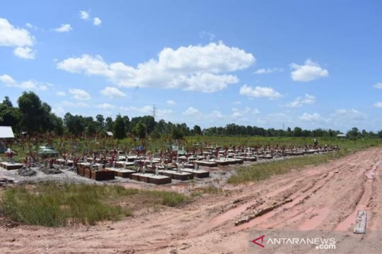 Pemkot Banjarmasin sediakan dua lahan pemakaman pasien COVID-19