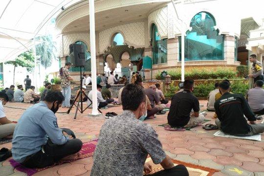 Masjid Al Kautsar Polda Metro Jaya kembali gelar Shalat Jumat