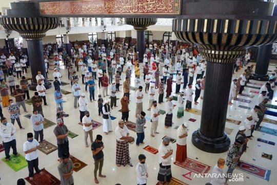 Masjid di Gorontalo selenggarakan shalat Jumat lagi