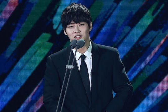 """When the Camellia Blooms"" dan para pemenang Baeksang Arts Awards 56"