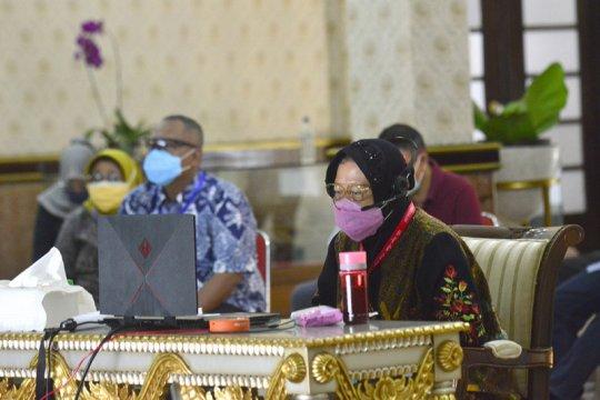 Wali Kota Risma rakor bahas pelaksanaan Pilkada Surabaya 2020