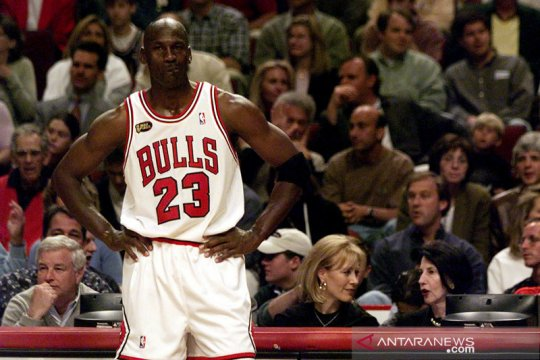 Michael Jordan donasikan Rp1,4 triliun demi kesetaraan rasial
