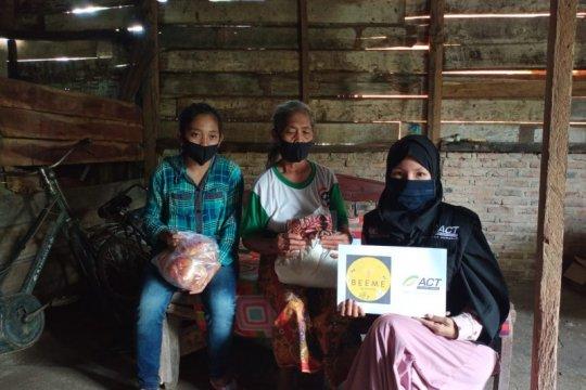 ACT Lampung salurkan bantuan ke warga terdampak puting beliung