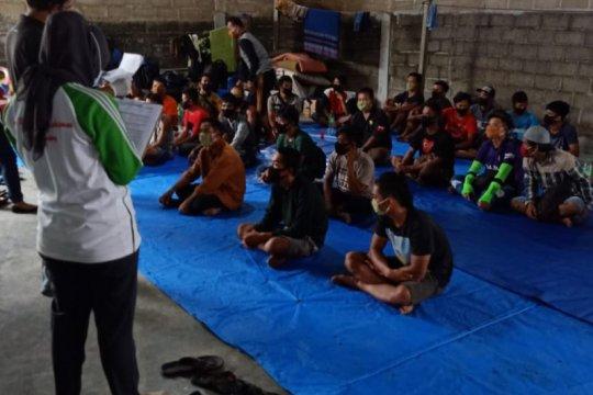 334 warga Sambas Kalbar tertahan di Tanjungpinang Kepri