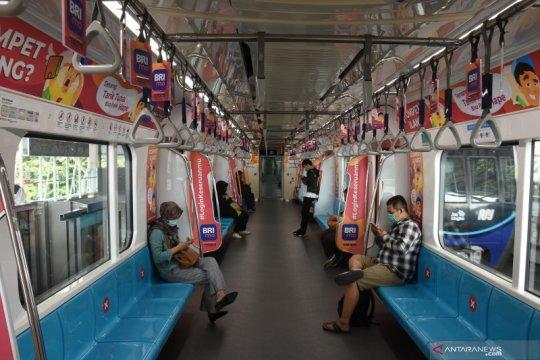 PSBB transisi, jumlah penumpang MRT capai 18 persen