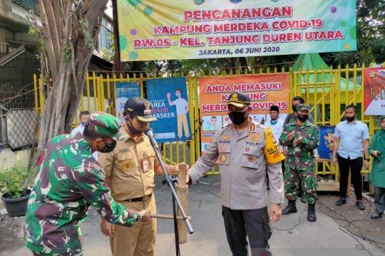 15 RW di Jakarta Barat masih zona merah