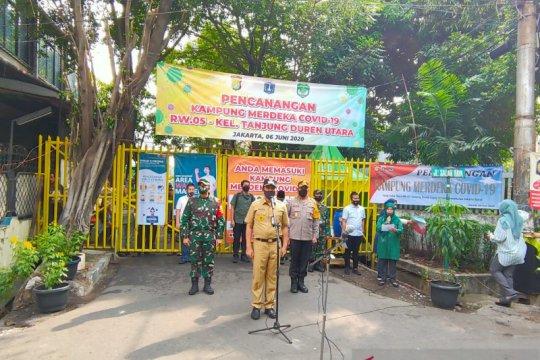 """Tiga Pilar Jakarta Barat resmikan """"Kampung Merdeka COVID-19"""""""