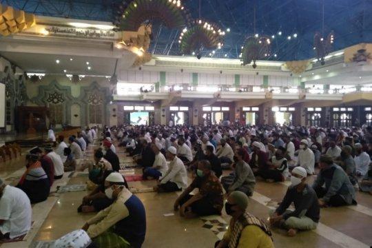Masjid Islamic Centre sudah buka untuk shalat