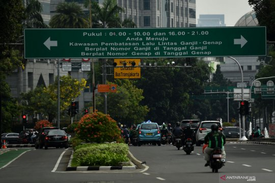 Ini alasan Pemprov DKI Jakarta kembali berlakukan ganjil-genap