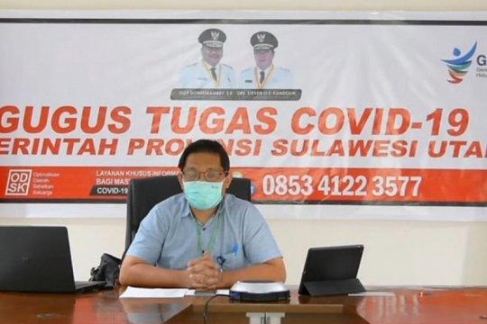 62 persen kasus COVID-19 di Sulut ditemukan dari pemeriksaan lapangan