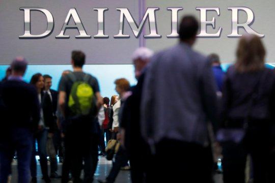 Saham Jerman berakhir melonjak, saham Daimler naik di atas 7 persen