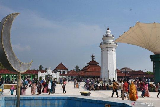 Kawasan wisata Kesultanan Banten dibuka kembali