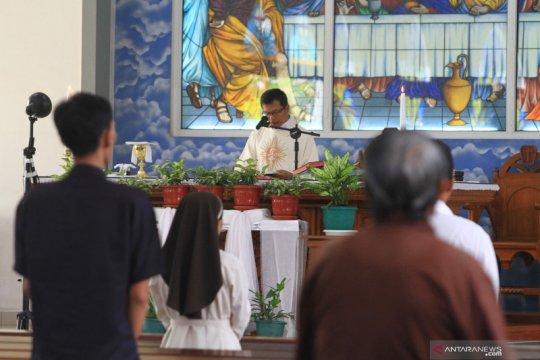 Gereja Katolik di Pontianak dibuka kembali