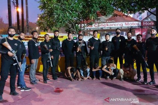 Polisi tangkap lima pemuda pelaku tawuran di Cengkareng