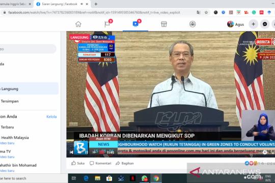 Malaysia akhiri PKPB pada 9 Juni 2020