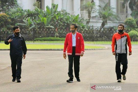 Presiden minta perwira TNI-Polri buat lompatan kemajuan atasi COVID-19