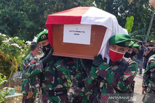 Danpuspenerbad pimpin pemakaman Lettu Wisnu Tia Aruni