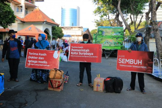 766 pasien COVID-19 di Surabaya dinyatakan sembuh