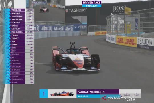Wehrlein di puncak klasemen berkat juarai seri ke-7 Formula E esports
