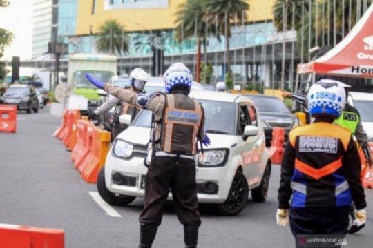 Polisi catat 21.380 pelanggaran selama PSBB Surabaya Raya