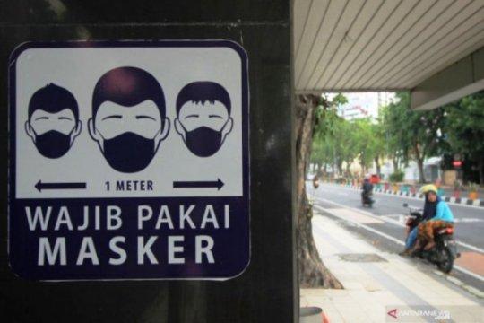 Gugus Tugas: Penggunaan masker jadi catatan evaluasi utama selama PSBB