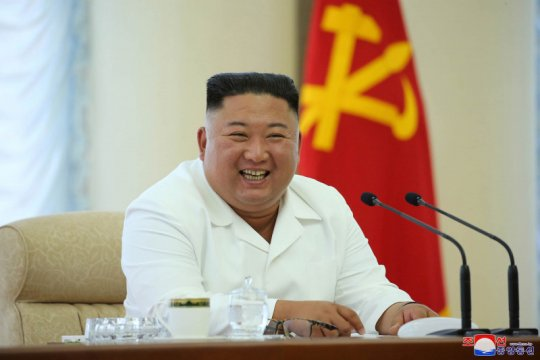 Kim Jon Un muncul pada pertemuan Partai Buruh Korea