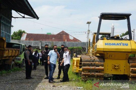 Polisi geledah BBPJN II Medan terkait dugaan korupsi proyek jalan