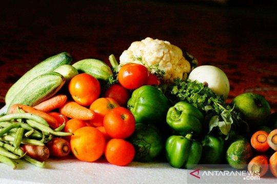 Hanya satu dari 10 penduduk Indonesia cukup konsumsi buah-sayur