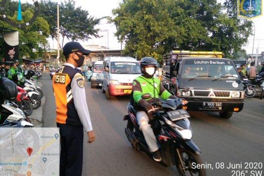 Sudinhub Jaksel tingkatkan pengendaliaan arus lalu lintas