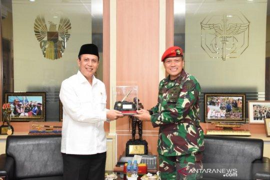 Kopassus-BNPT bahas sinergitas penanggulangan terorisme