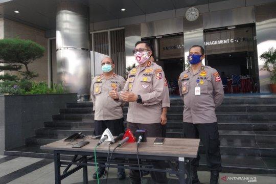 "Polantas wajib gunakan masker dan ""face shield"" di masa normal baru"