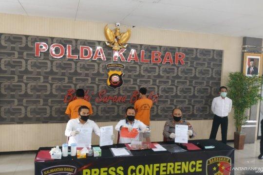 Polda Kalbar tangkap dua pemalsu surat perjalanan bebas COVID-19
