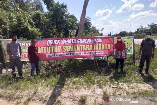 Wisata Sungai Hijau Riau ditutup usai pengunjungnya positif COVID-19