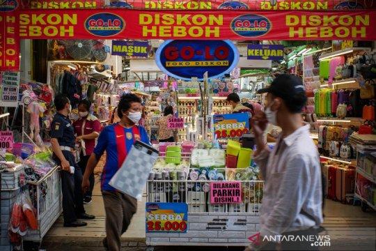 Pemerintah ajak pelaku pasar tradisional-ritel mulai kebiasaan baru