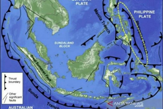 Gempa magnitudo 6 guncang Sulut, terasa juga di Gorontalo