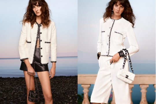 "Koleksi ""Cruise 2021"" Chanel, pulau Capri yang diboyong ke Paris"