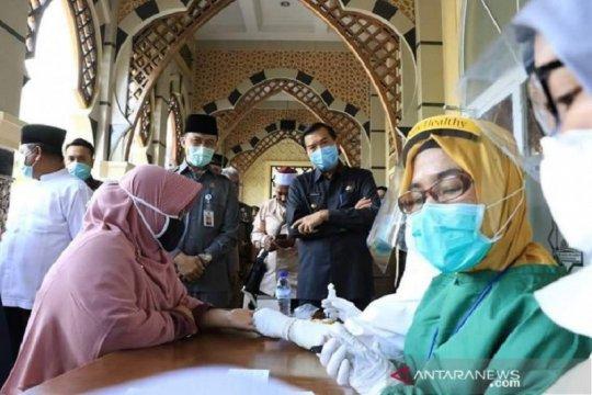 6.696 warga Pekanbaru sudah jalani rapid test