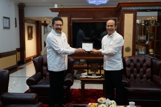 Kepala BNPT temui Jaksa Agung koordinasi penanganan kasus terorisme