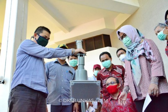 FKG-FT Unhas luncurkan e-magic uh1 pembersih aerosol atasi COVID-19