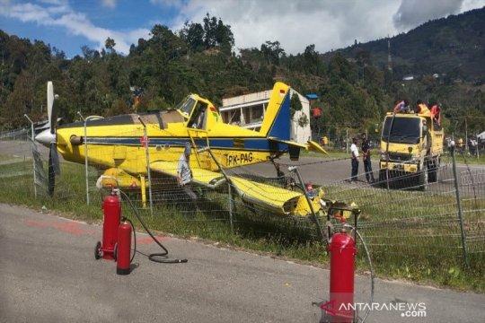 Angkut BBM bersubsidi, pesawat Pelita Air tergelincir di Karubaga