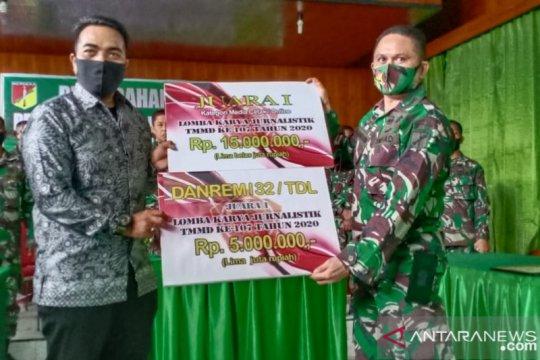 Pewarta ANTARA Biro Sulteng juara lomba karya jurnalistik TMMD