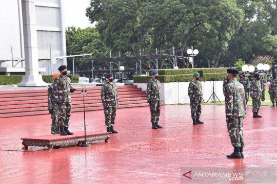 Panglima TNI terima laporan kenaikan pangkat 84 Pati