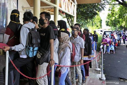 Presiden Jokowi: Tingkat pengangguran 2021 ditargetkan 7,7-9,1 persen