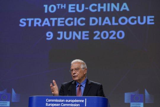 Uni Eropa peringatkan China terkait UU keamanan baru di Hong Kong