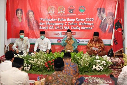 Wakil Ketua MPR apresiasi kehadiran tokoh dalam acara Bulan Bung Karno
