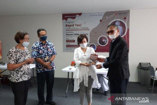 Dirut ANTARA ingatkan tantangan pandemi COVID-19 belum berakhir