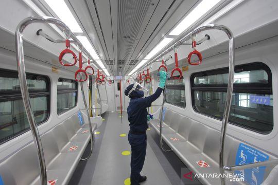 LRT Jakarta kembali beroperasi